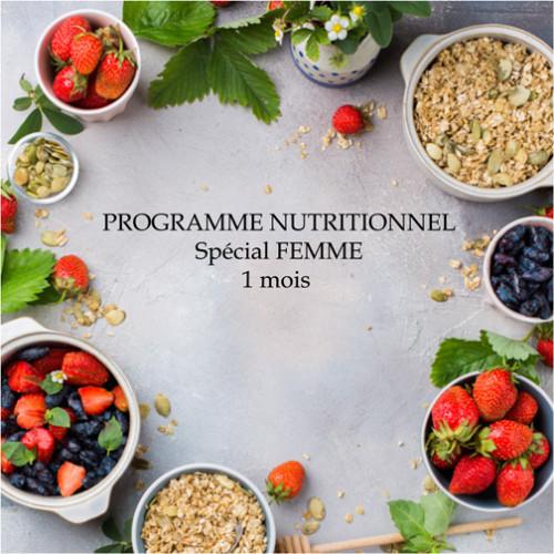 1defy-Suivi&Coaching Nutritionnel FEMME 1 mois
