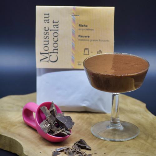 Mousse Choco Protéinée Enrichie / 5