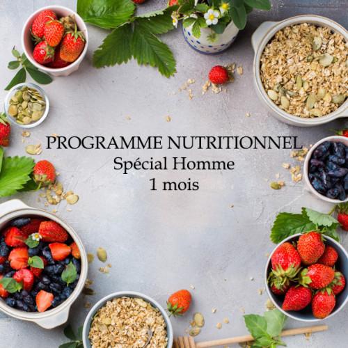 1defy-Suivi&Coaching Nutritionnel HOMME 1 mois