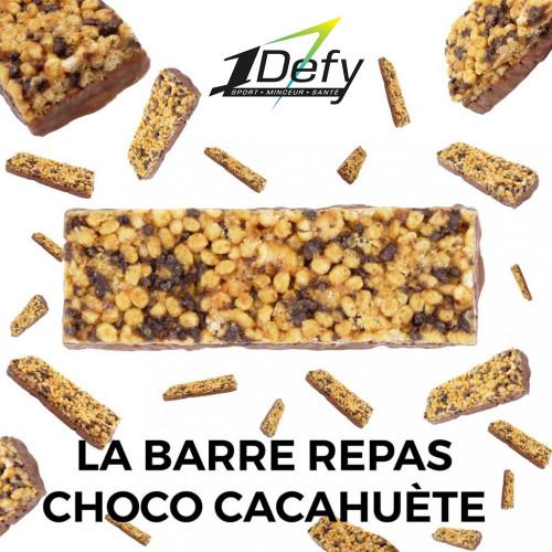 Barre Repas enrichie Chocolat Cacahuète